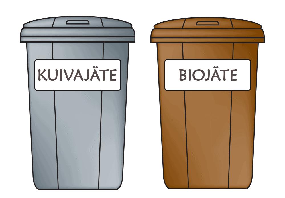 jäteastiat