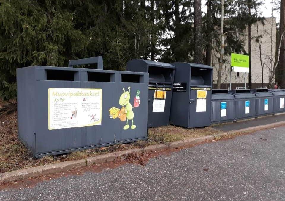 Lisää muovipakkausten keräyspisteitä Imatralle ja Lappeenrantaan
