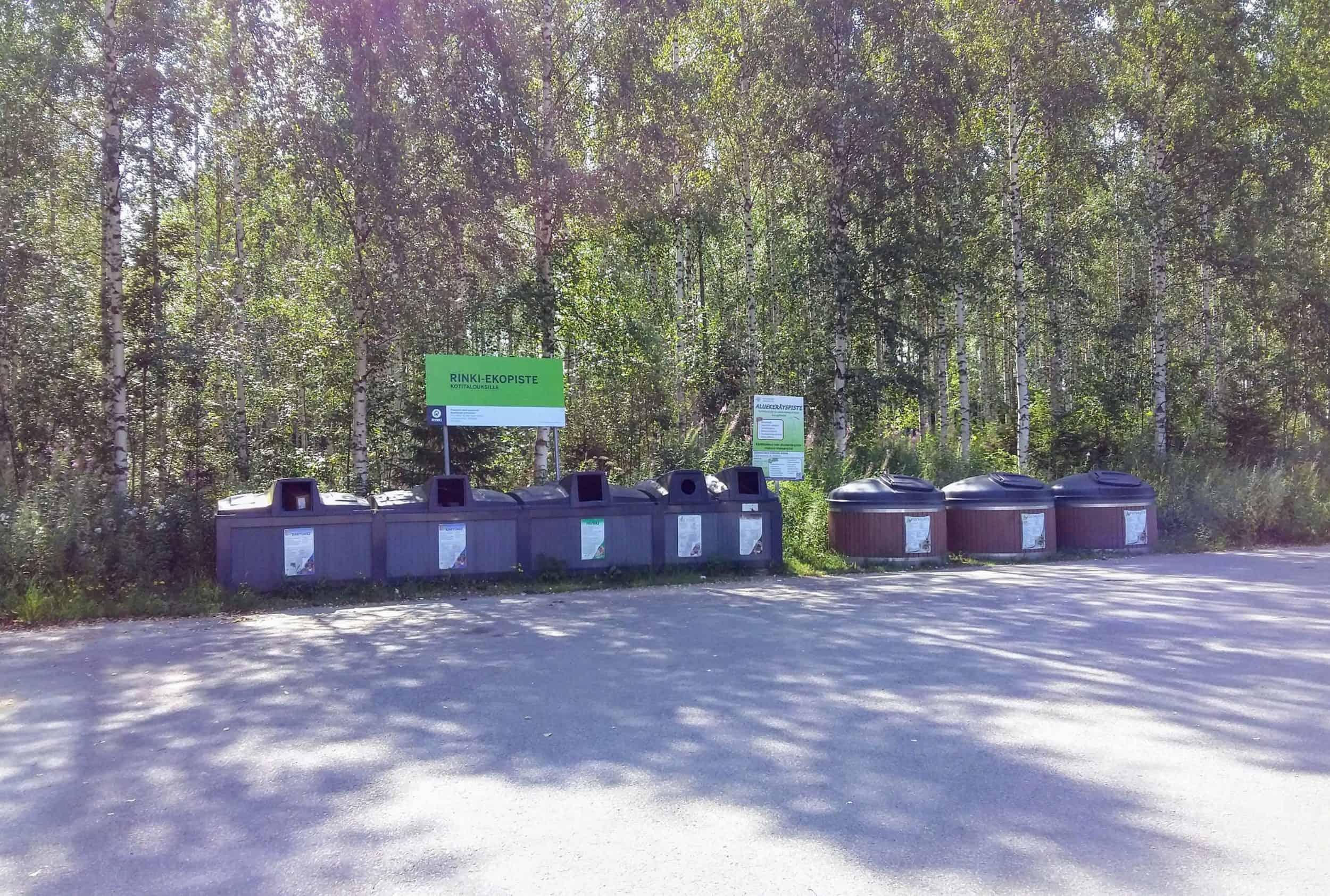 Kerrostalon jätetila